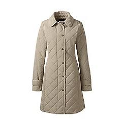 Lands' End - Brown primaloft coat