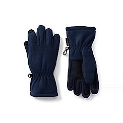Lands' End - Blue ez touch thermacheck-200 gloves