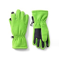Lands' End - Green ez touch thermacheck-200 gloves