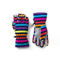 Lands' End - Multi ez touch thermacheck-200 patterned gloves