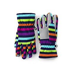 Lands' End - Multicoloured ez touch thermacheck-200 patterned gloves
