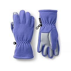 Lands' End - Purple ez touch thermacheck-200 gloves