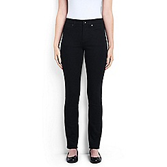 Lands' End - Black black xtra life denim slim leg jeans