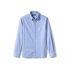 Lands' End - Blue regular traditional fit sail rigger oxford shirt