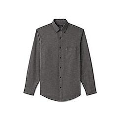 Lands' End - Black regular chambray shirt