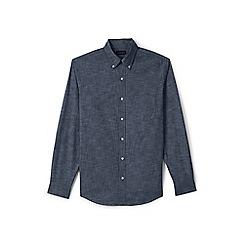 Lands' End - Blue regular chambray shirt