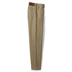 Lands' End - Beige coloured regular fit jeans