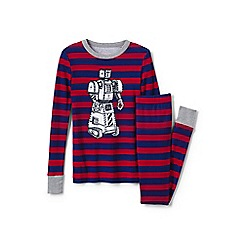 Lands' End - Multi boys' glow-in-the-dark snug fit pyjama set
