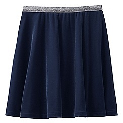 Lands' End - Blue girls' velveteen skirt
