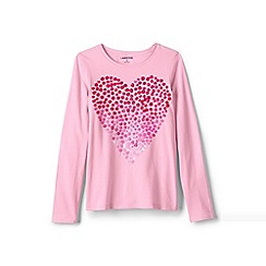 Lands' End - Multi girls' graphic tee
