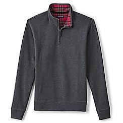 Lands' End - Grey brushed rib pullover