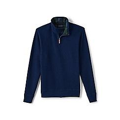 Lands' End - Blue brushed rib pullover
