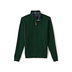Lands' End - Green brushed rib pullover