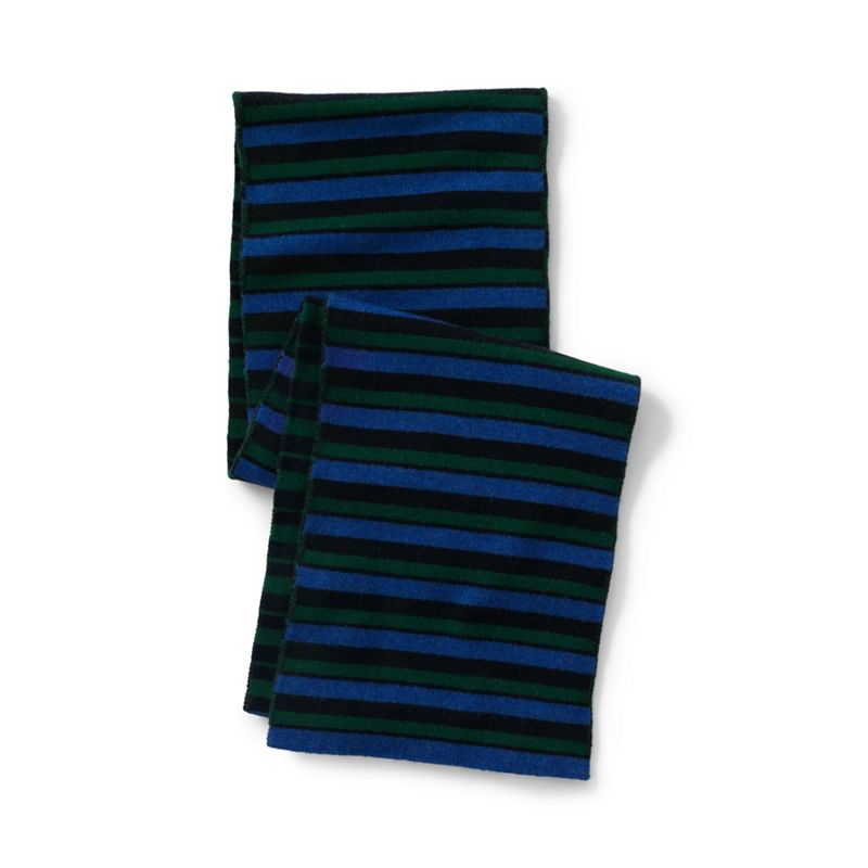 Lands' End - Blue Chunky Knit Scarf