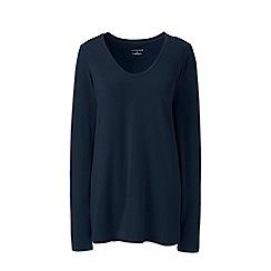 Lands' End - Blue jersey sleep top