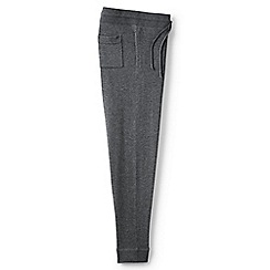 Lands' End - Grey merino/cotton joggers