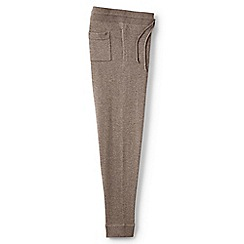 Lands' End - Brown merino/cotton joggers