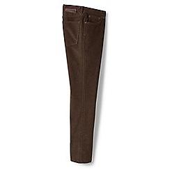 Lands' End - Brown flannel-bonded cord jeans
