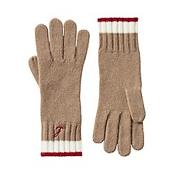 Lands' End - Beige cashmere gloves