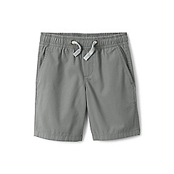 Lands' End - Boys' grey pull-on shorts