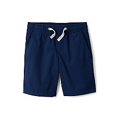 Lands' End - Boys' blue pull-on shorts