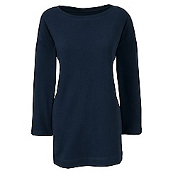 Lands' End - Blue three quarter sleeve boatneck tunic