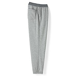 Lands' End - Grey serious sweats sherpa jogging bottoms