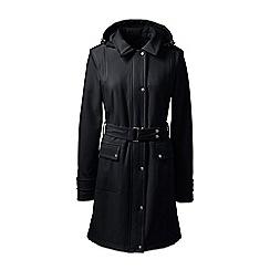 Lands' End - Black petite soft shell coat