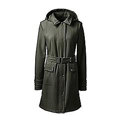 Lands' End - Green tall soft shell coat
