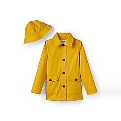 Lands' End - Yellow rain slicker