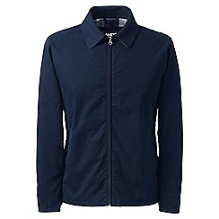 Lands' End - Blue regular harrington jacket
