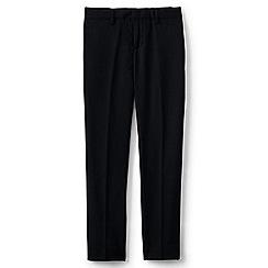 Lands' End - Boys' black smart wool trousers