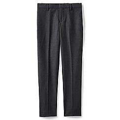 Lands' End - Boys' grey smart wool trousers
