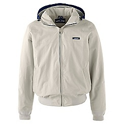 Lands' End - Beige regular spring squall jacket