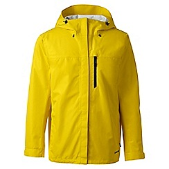 Lands' End - Yellow regular waterproof jacket