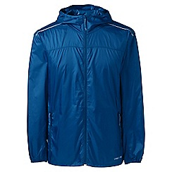 Lands' End - Blue regular ultra-light packable jacket