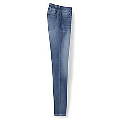 Lands' End - Blue xtra life denim pull-on skinny jeans
