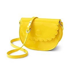 Lands' End - Girls' yellow crossbody bag