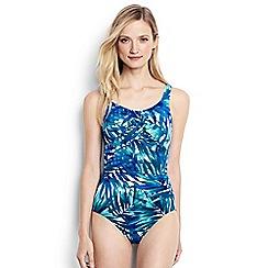 Lands' End - Multi regular carmela leaf pattern slender swimsuit