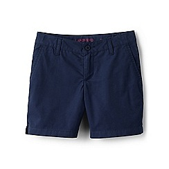 Lands' End - Girls' blue mini bermuda shorts