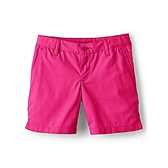 Lands' End - Girls' pink mini bermuda shorts