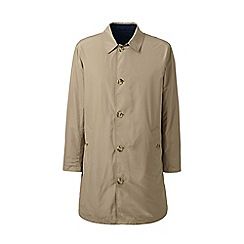 Lands' End - Beige reversible mac
