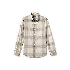 Lands' End - Beige lightweight cotton shirt