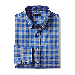 Lands' End - Blue lightweight cotton shirt
