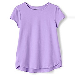 Lands' End - Purple a-line short sleeve tee