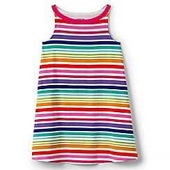 Lands' End - Girls' multicoloured a-line sleeveless dress