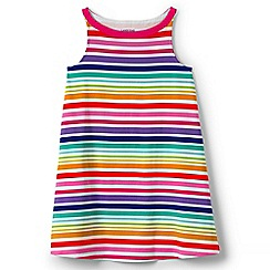 Lands' End - Girls' multicoloured a-line sleeveless dress