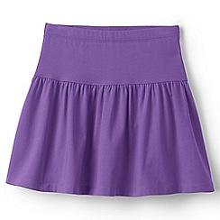 Lands' End - Purple cotton skort