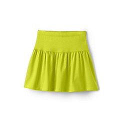 Lands' End - Girls' yellow cotton skort