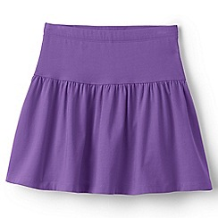 Lands' End - Purple cotton skort